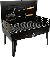 BBQ Grill, Charcoal BBQ Grill with Accessories