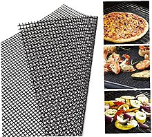 BBQ Grill Mesh Mat Non-Stick Cooking Mats Grilling