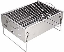 BBQ Grill, Portable Barbecue Grill For 4-6