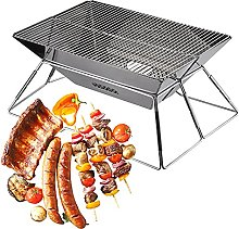 BBQ Grill, Portable Stainless Steel Foldable