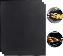 BBQ Grill Sheet Set Of 3, Non-stick Coated, Trim