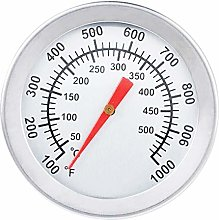 BBQ Grill Thermometer, Stainless Steel Smoker