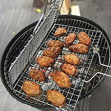 BBQ Grilling Basket Grill Mesh Mat Meat Vegetable