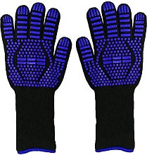 BBQ Heat Gloves Oven Mitts Heat Resistant Non-Slip