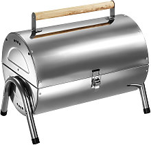 BBQ stainless steel - charcoal grill, barbecue,