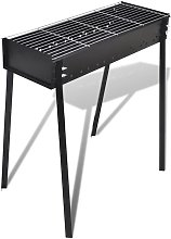 BBQ Stand Charcoal Barbecue Square 75 x 28 cm -