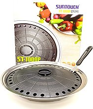 BBQ Stovetop Smokeless Nonstick Grill Indoor