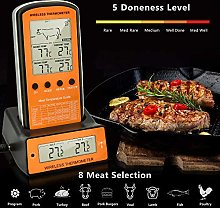 BBQ Thermometer, Wireless Remote Digital Meat