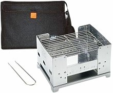 BBQ300S Grill Charcoal Silver barbecue - Esbit