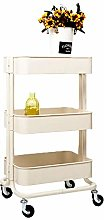 BBWYYQX Cart Tool Beauty Salon Rolling Trolley