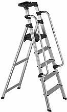 BBWYYQX Ladder Household Fold Ladders Stretch