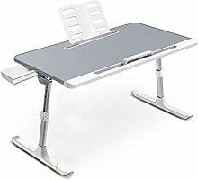 BBWYYQX Table Bed Fold Desk Desk Desk,Convenient