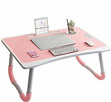 BBWYYQX Table Bed Table Desk Fold Desk,Student