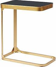 BBWYYQX Table Bedroom Nightstand Glass Coffee