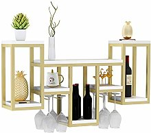 BBWYYQX Wine Rack Home Restaurant Wine Cabinet on