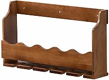 BBWYYQX Wine Rack Wall-Mounted Wine Cabinet