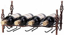 BBWYYQX Wine Rack Wine Glass Rack Wall-Mounted