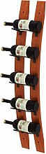BBWYYQX Wooden Wine Rack Wall-Mounted Wine Shelf