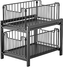BBZZ Pull Out Cabinets Organizer Shelf,