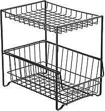 BBZZ Pull-Out Spice Storage Rack, Floor-Standing