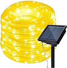BBZZ Solar Rope Lights Outdoor, Waterproof 72FT