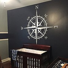 BBZZL Captain Compass Rose Wall or Ceiling Sticker