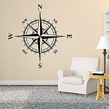 BBZZL Compass Rose Wall or Ceiling Sticker Medal