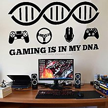BBZZL Lifestyle vinyl wall stickers game console