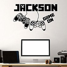 BBZZL Personalized wall sticker with game name
