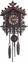 BCBKD Antique Cuckoo Clock, Vintage Handcraft