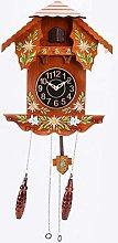 BCBKD Cuckoo Clock Vintage Painted Nordic Style
