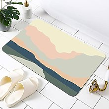 BCDALN Area Carpets Diatom Mud Absorbent Soft Foot