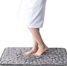 BCDALN Area Rugs Memory Foam Embossed Soft Stone
