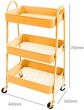 BCGT 3-Tier Rolling Utility Cart Storage