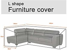 BCGT Waterproof Outdoor Furniture Cover L Shape
