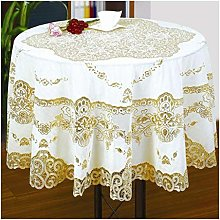 BCL Round Lace Tablecloth Protector Pvc