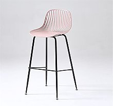 BCLGCF Bar Stool Kitchen Chairs with Backrest,