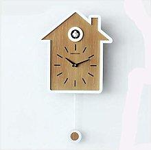 BCLGCF Bird House Clock Modern Cuckoo Clock Wall