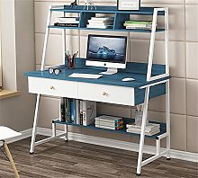 BCLGCF Computer Desk with Hutch And Bookshelf,