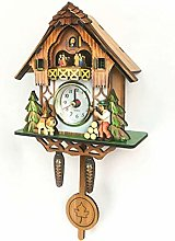 BCLGCF Cuckoo Clock Traditional Forest Wood Clock