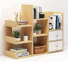 BCLGCF Desktop Bookshelf Desk Storage Organizer