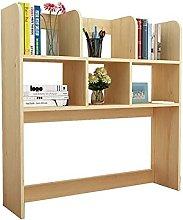 BCLGCF Desktop Bookshelf Wooden Bookcase, Home