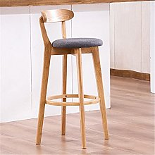 BCLGCF Modern Bar Chair, Upholstered Round Counter