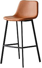 BCLGCF PU Leather Bar Stools with Back And