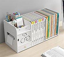 BCLGCF Small Bookshelf for Desktop Storage, Mini