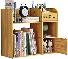 BCLGCF Wooden Desk Organizer With Drawer,