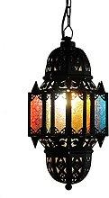 BD.Y Handmade Turkish Moroccan Glass Pendant Lamp