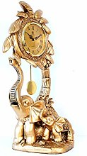bdb Desk Clocks With Pendulum Elephant Shape