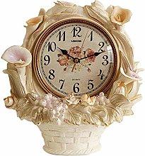 bdb Resin Desk Clocks Silent Fireplace Clock On