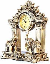 bdb Resin Mantle Clock Desk Clocks With Pendulum